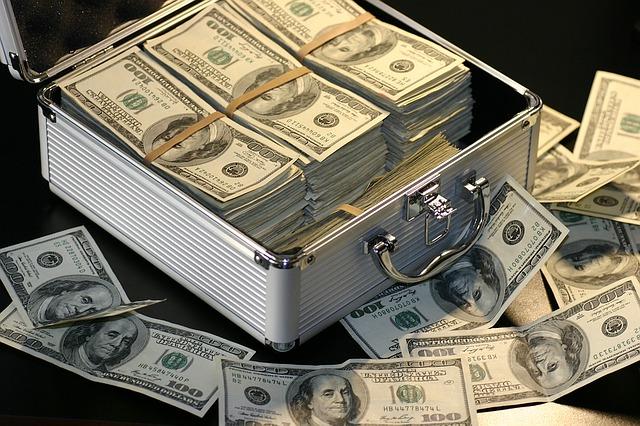 Geldkoffer Casino Dollar